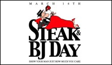 Steak & BJ's Only the Best
