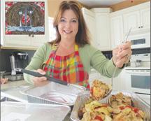 Krista Jones Founder of the Sparrow's Nest Charity